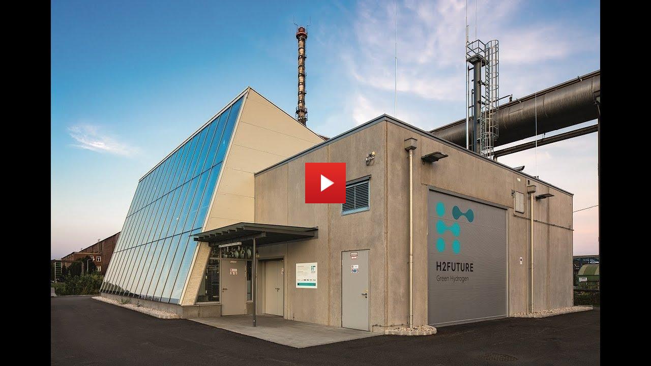 Video – H2FUTURE Pilotanlage geht in Betrieb