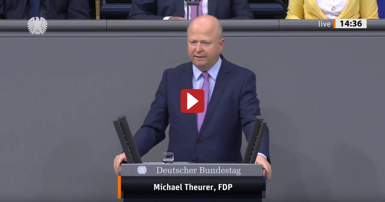 Michael Theurer, FDP: Wasserstoff muss zentraler Baustein der Energiewende sein
