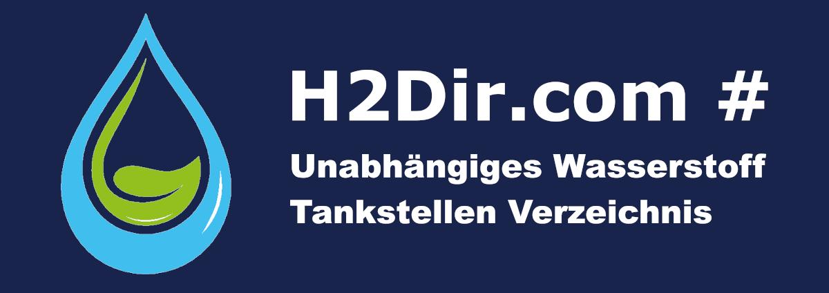 Neues Wasserstoff Tankstellen Verzeichnis