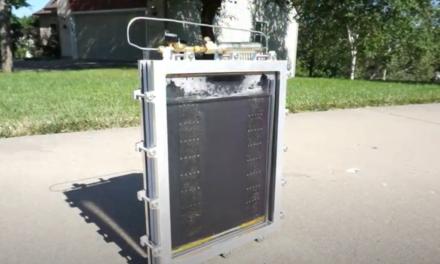 Video: SunHydrogen präsentiert Wasserstoff produzierendes Solarpanel
