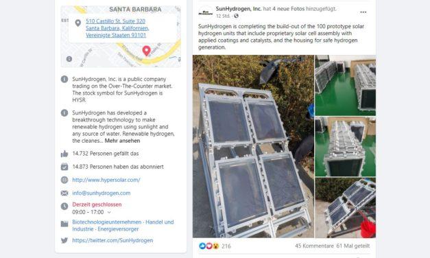 SunHydrogen – Neue Bilder der Wasserstoff-Solarzellen